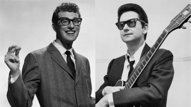 Buddy Holly and Roy Orbison