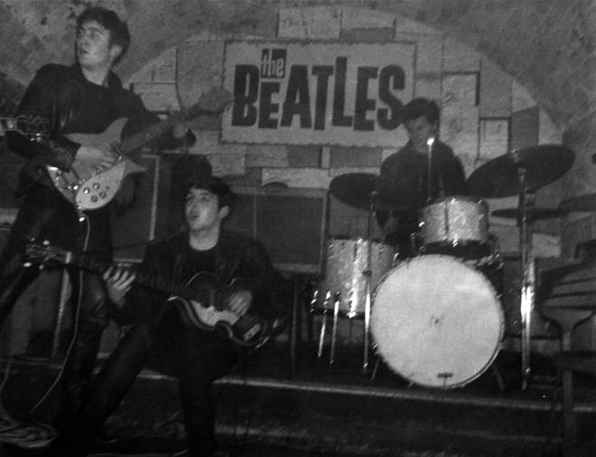 The Beatles in The Cavern Club