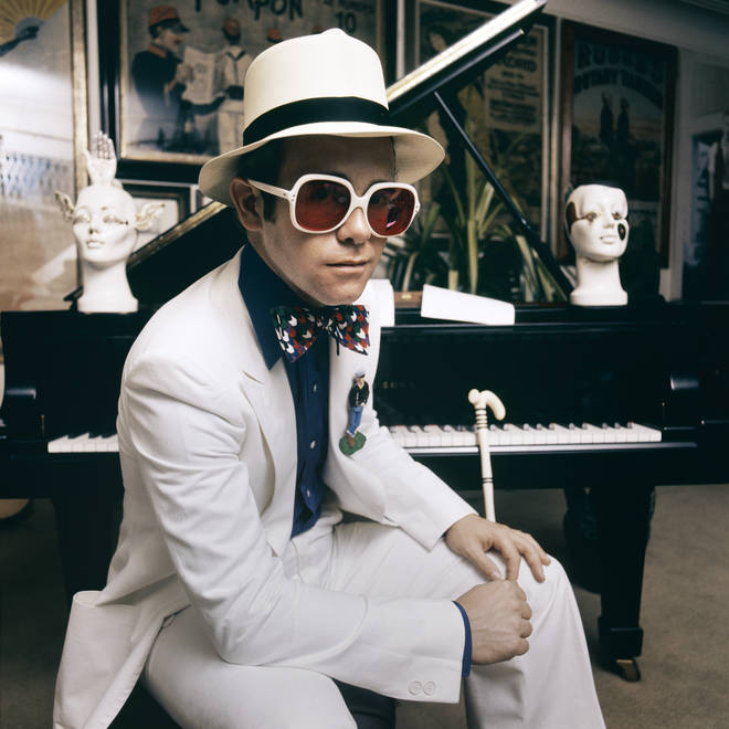 Elton At Home