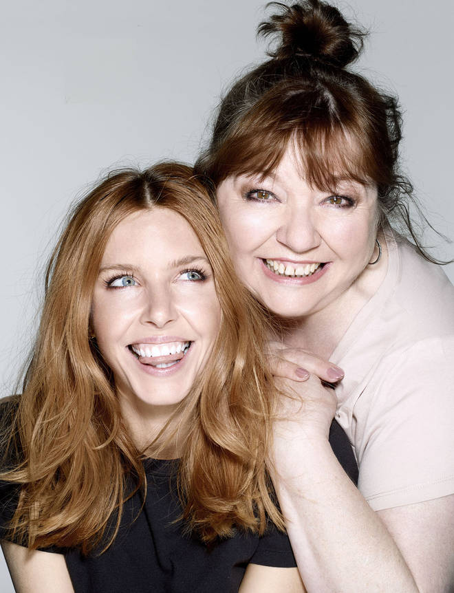 Stacey Dooley and her mum Di, shot by Rankin