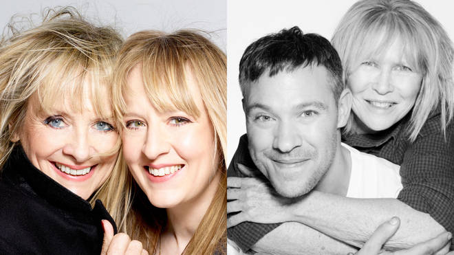 Twiggy and Will Young are some of the celebrities photographed for Mother's Day