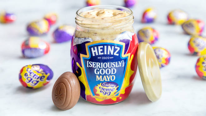 Heinz Creme Egg Mayo