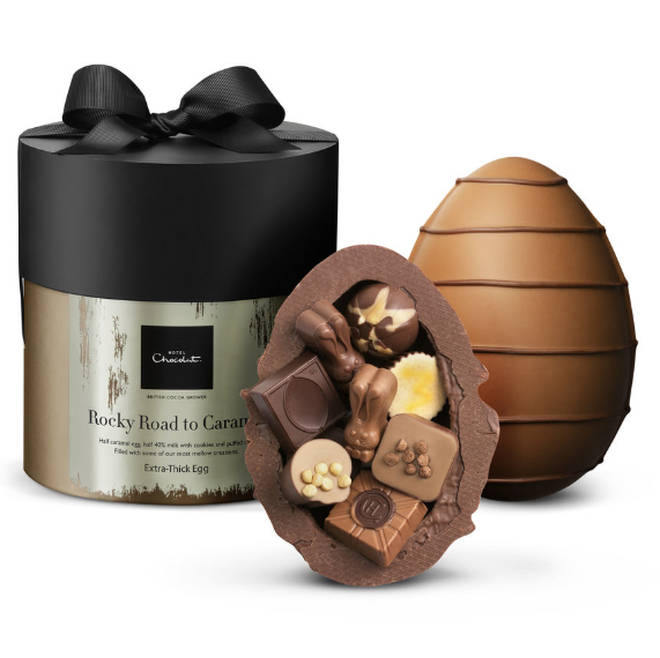 Hotel Chocolat Extra-Thick Rocky Road Easter Egg, £27