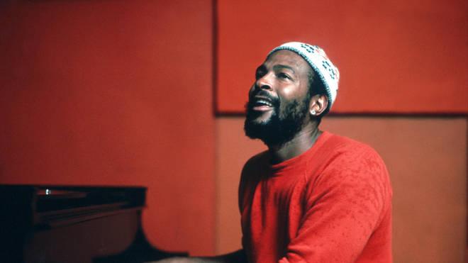 Marvin Gaye in 1974