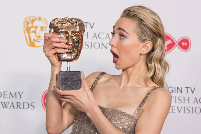 Vanessa Kirby, Winner of Best Supporting Actress at the 2018 TV BAFTAs