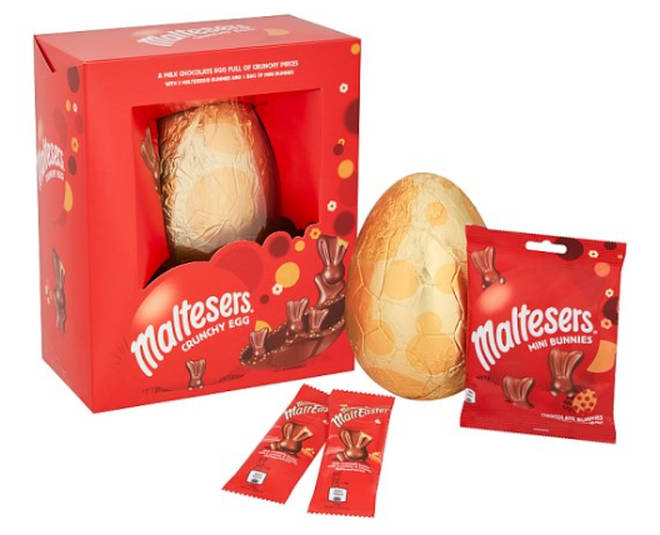 Tesco Malteaster Bunny Luxury Egg