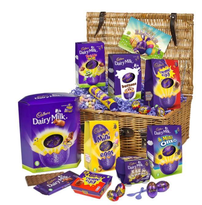 Cadbury Celebration Gift Basket, £50