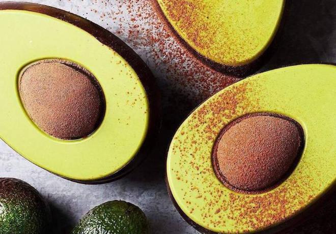 Waitrose Avocado Chocolate Eggs