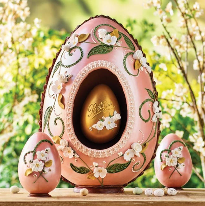 The Cenetery Imperial Egg from Bettys Tea Rooms