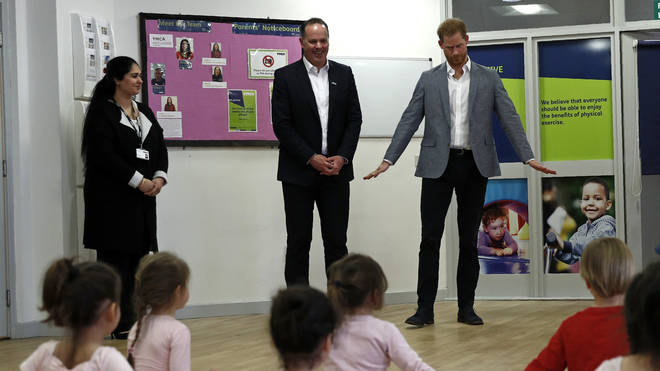 The Duke Of Sussex Meets Mental Health Organisations During Visit To YMCA