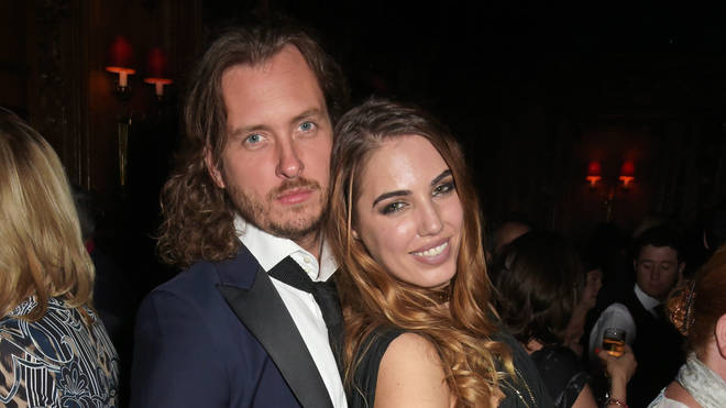 Amber Le Bon with ex-boyfriend Dan Kapp in 2015
