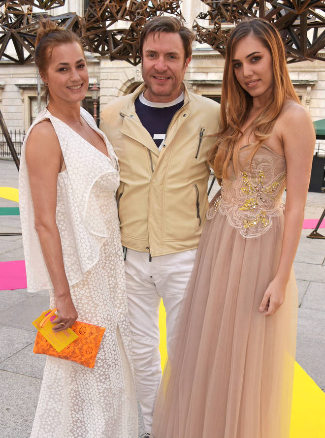 Yasmin, Simon and Amber Le Bon in 2015