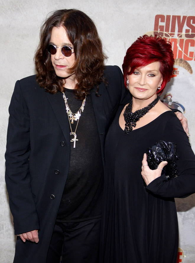 Ozzy and Sharon Osborne pictures in 2010