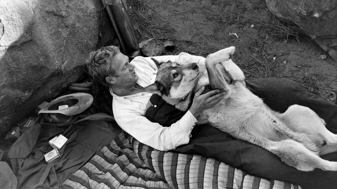 McQueen and his Dog