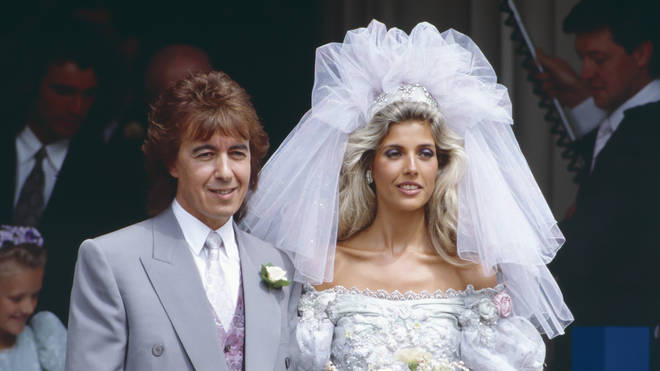 Bill Wyman and Mandy Smith married in 1989