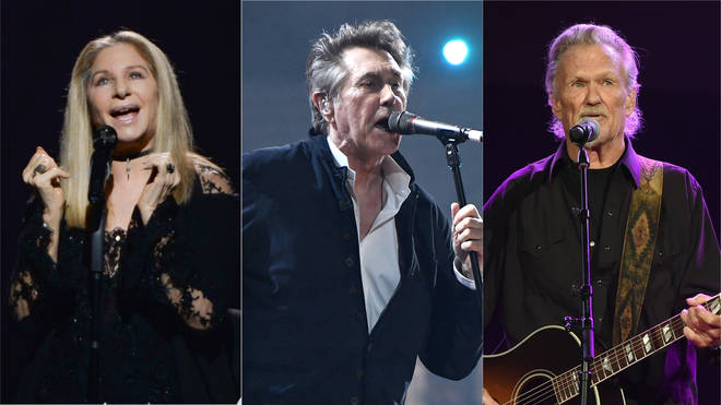 Barbra Streisand will be joined by Bryan Ferry and Kris Kris Kristofferson at BTS Hyde Park