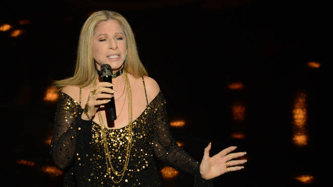 Barbra Streisand performs onstage at the 85th Annual Academy Awards on February 24, 2013