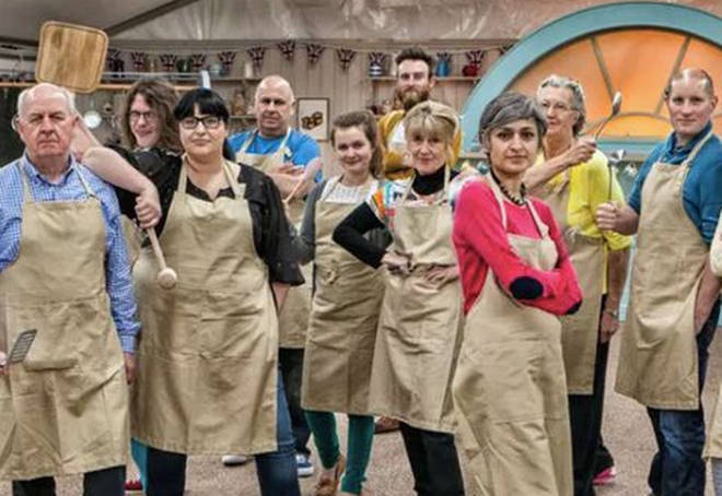 The Great British Bake Off cast reunite for wedding