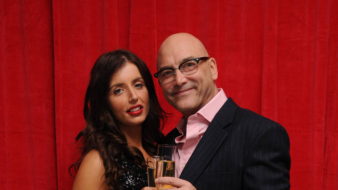 Gregg Wallace and wife Anne-Marie Sterpini