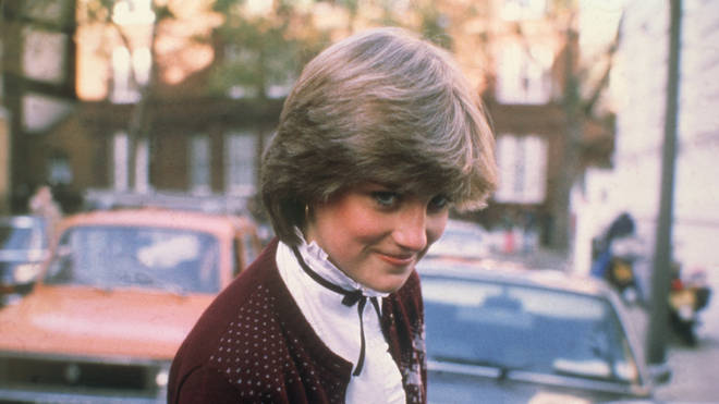 Diana Spencer in 1980