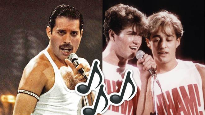 Freddie Mercury / Wham!
