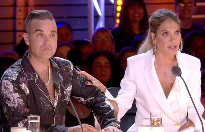 Robbie Williams and wife Ayda Field have quit X Factor