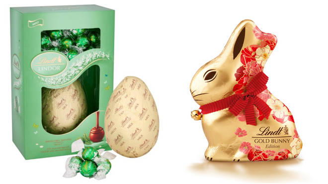 Lindt's chocolate selection is ideal for Easter