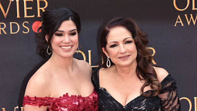Christie Prades and Gloria Estefan