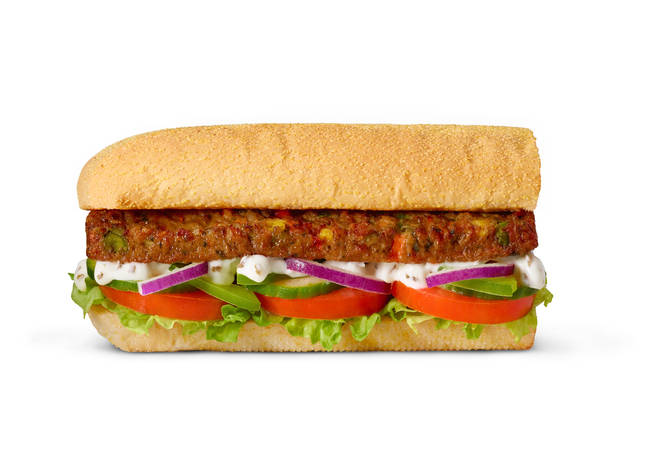 Subway have launched a new vegan sandwich