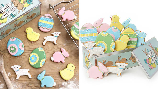 Biscuiteers Easter Party Luxe Tin, £40