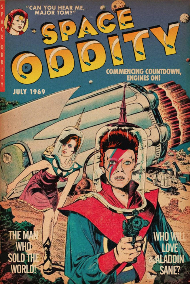 David Bowie's 'Space Oddity' by Todd Alcott