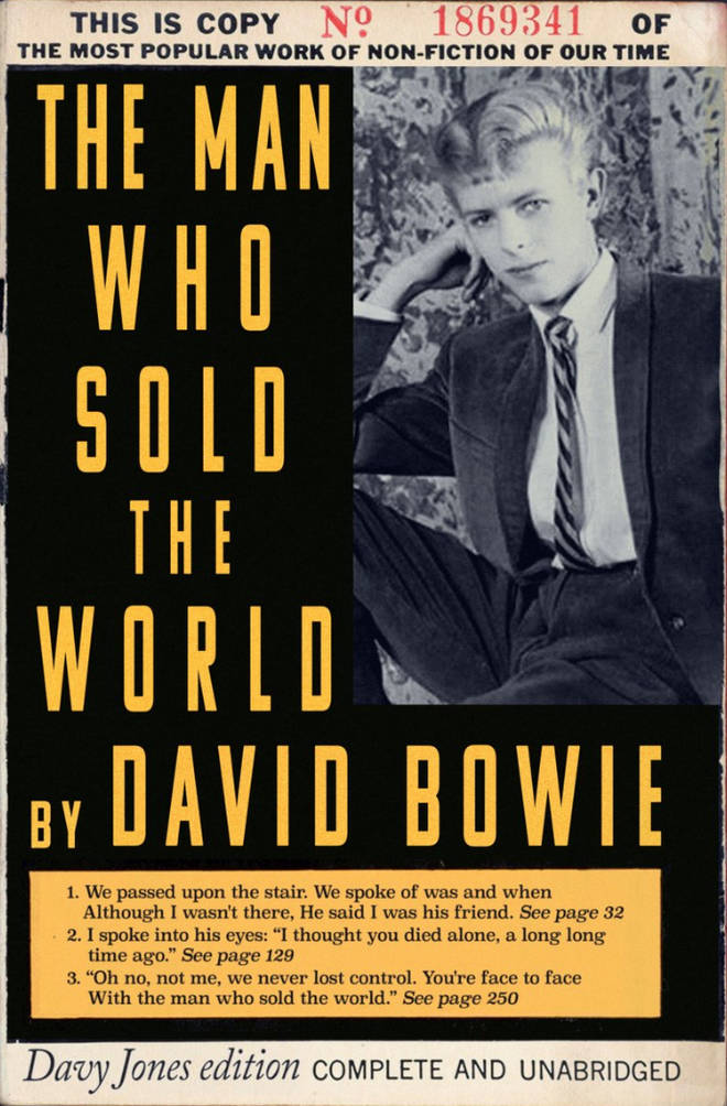 David Bowie's 'The Man Who Sold The World' by Todd Alcott