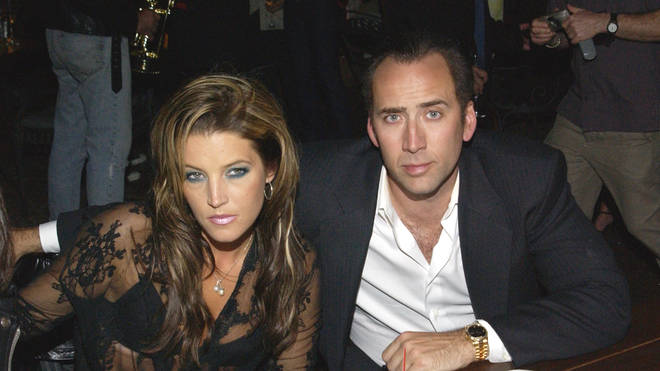 Lisa Marie Presley and Nicolas Cage married in 2002