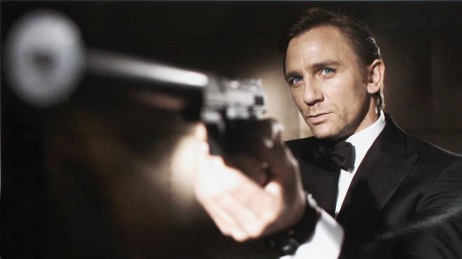 "Daniel Craig in Bond movie ""Casino Royale"""