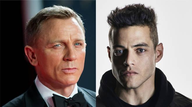 Rami Malek will play a new character in Bond 25 opposite Daniel Craig