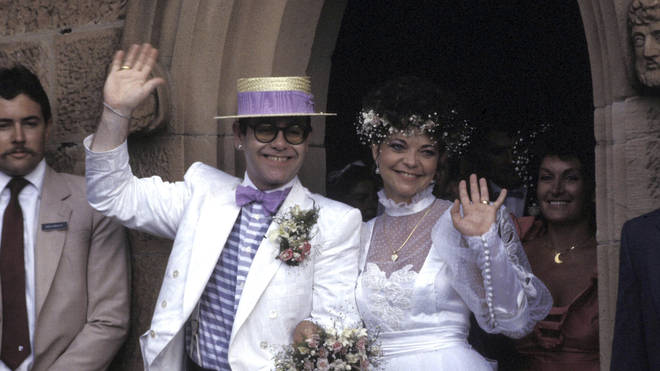 Elton John married Renate Blauel in 1984