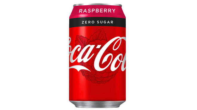 Coca-Cola Raspberry Zero Sugar
