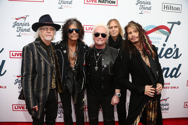 Aerosmith's 'I Don't Want To Miss A Thing' was the first US Number 1 for the band