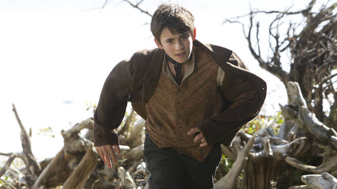 Charlie Rowe as Peter Pan in Neverland