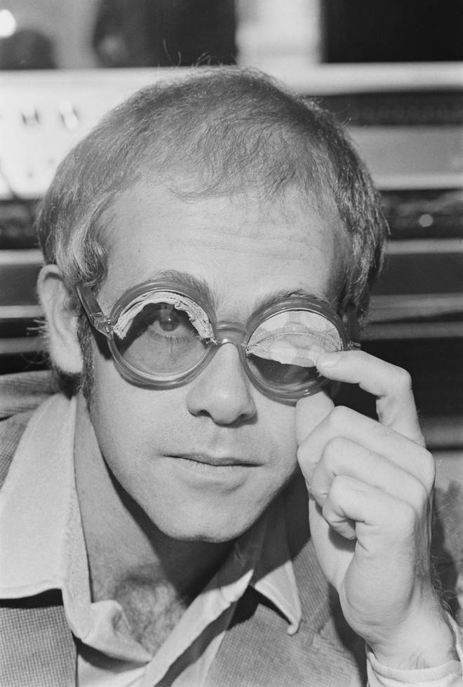 Elton with awning specs in 1974
