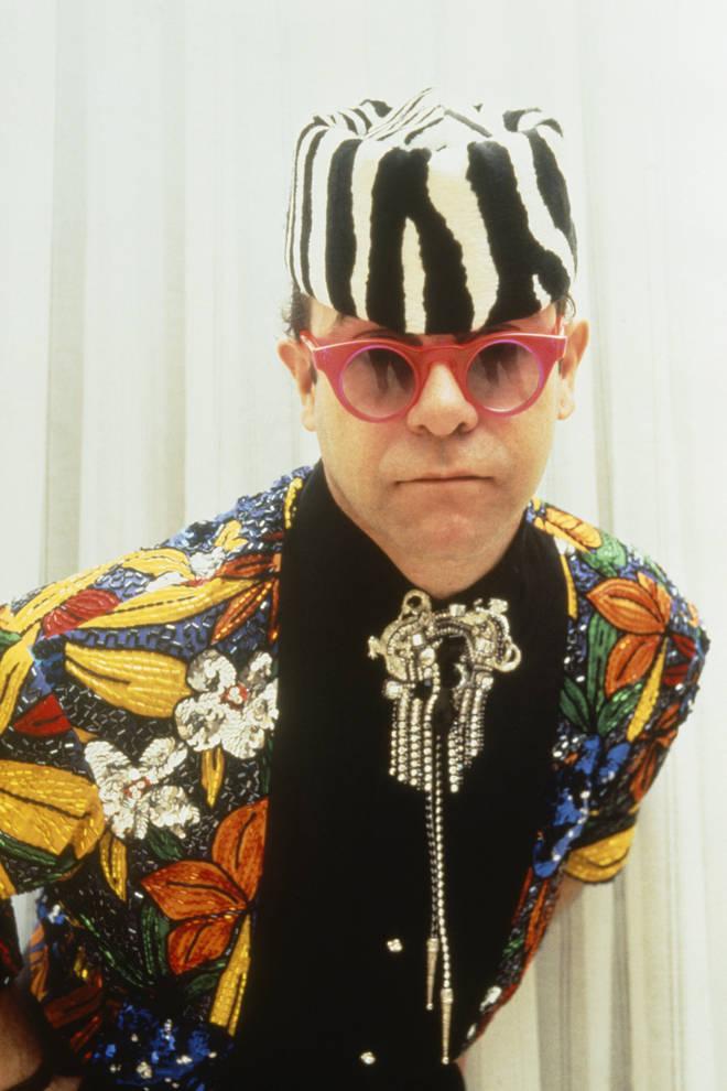 Elton John at the Victoires de la Musique ceremony