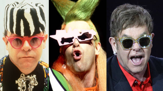 Elton John glasses: An evolution of the star's most outlandish stage