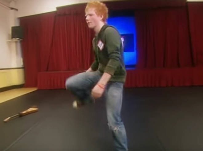 Ed Sheeran's 2007 dance audition for 'Britannia High'