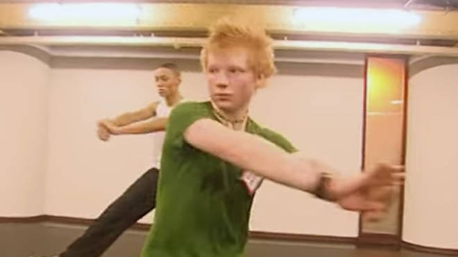 Ed Sheeran dancing on 'Britannia High' in 2007