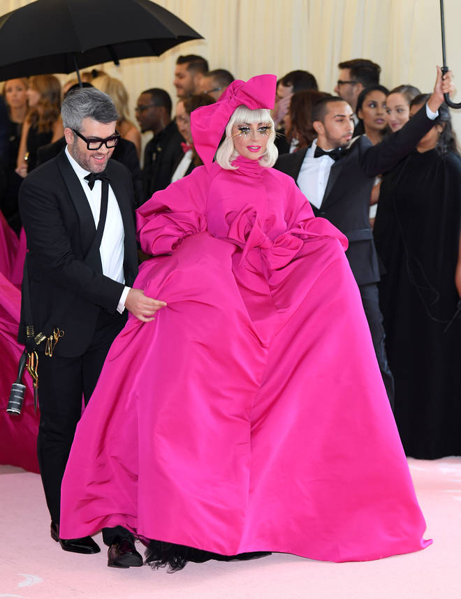 Met Gala 2019: Lady Gaga strips down to her bra and pants on