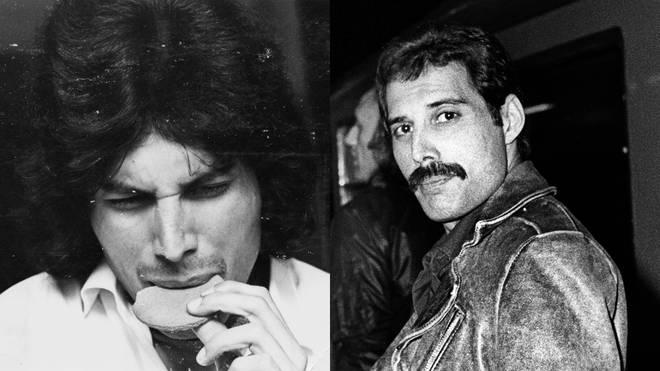 Behind-the-scenes pictures of Freddie Mercury throughout his career
