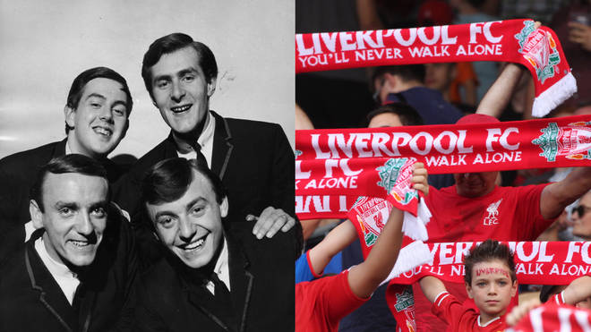 Liverpool fans adopted 'You'll Never Walk Alone' by Gerry and the Pacemakers as their official anthem