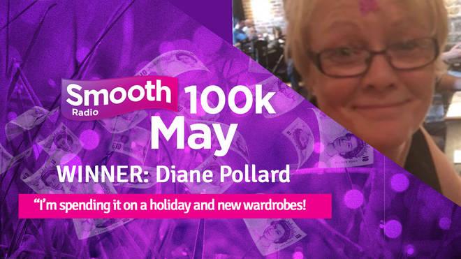 100k May winner