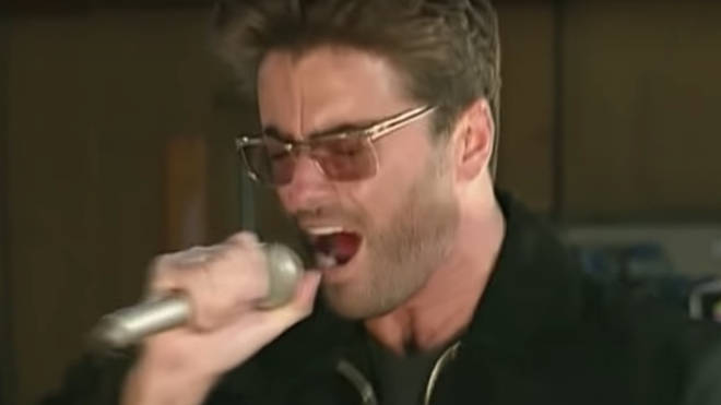 George Michael rehearses Queen's 'Somebody To Love' as David Bowie and Seal watch on