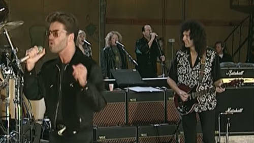 Watch George Michael impress David Bowie and Seal as he